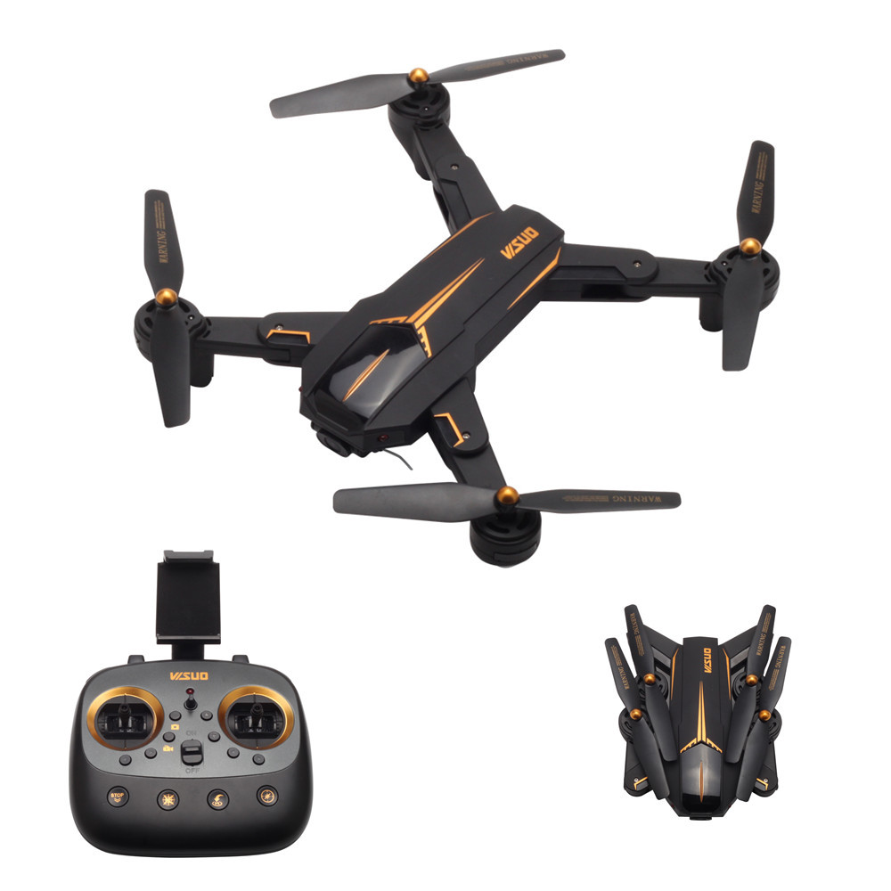 VISUO XS812 GPS RC Drone avec 2MP/5MP Caméra 5g WiFi GPS Positoning RC Hélicoptère Maintien D'altitude Pliable RC Quadcopter VS XS809S