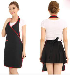 Online buy wholesale logo apron from china logo apron for Spa uniform wholesale