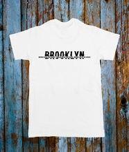 BROOKLYN IN THE HOUSE USA POPULAR MUSIC TEE T SHIRT TOP BLACK WHITE TUMBLRFashion Design Free Shipping  Mens Shirts Fashion