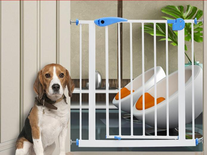 Adjustable Width Security Baby Playpen Safety Gate Railing Dog Fence Kid Stairs Protection Guard Furniture Accessories