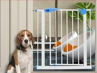 Adjustable Security Baby Playpen Safety Gate Railing Iron Dog Fence Kid Stairs Protection Guard