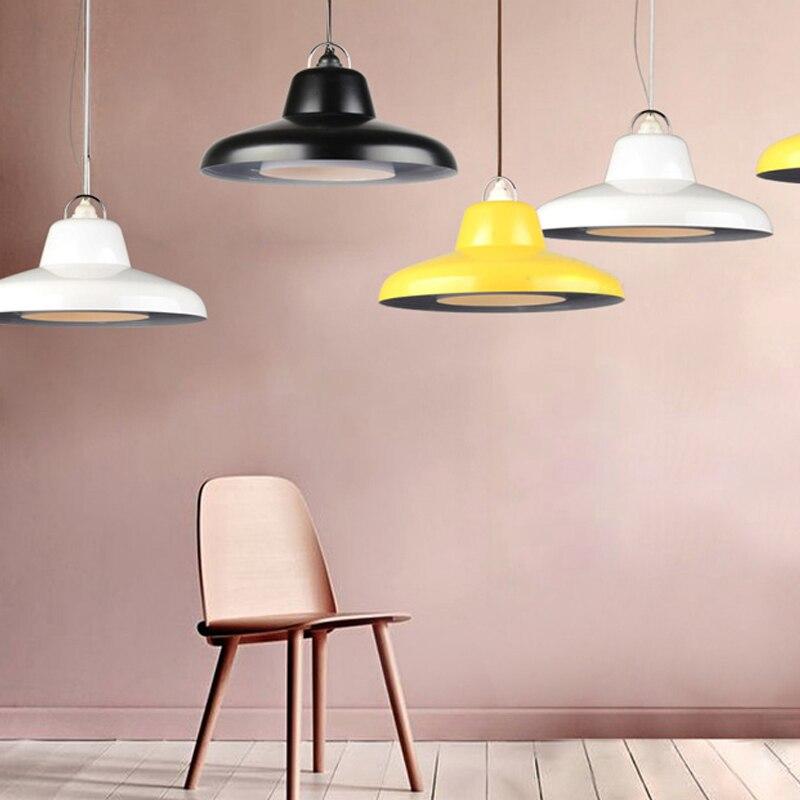Creative Vintage Designer Loft Industrial 3 Colors Acryl Led E27 Pendant Light For Dining Room Living Room Bar Dia 45cm 1910 savage amusement 50th anniversary deluxe edition lp cd