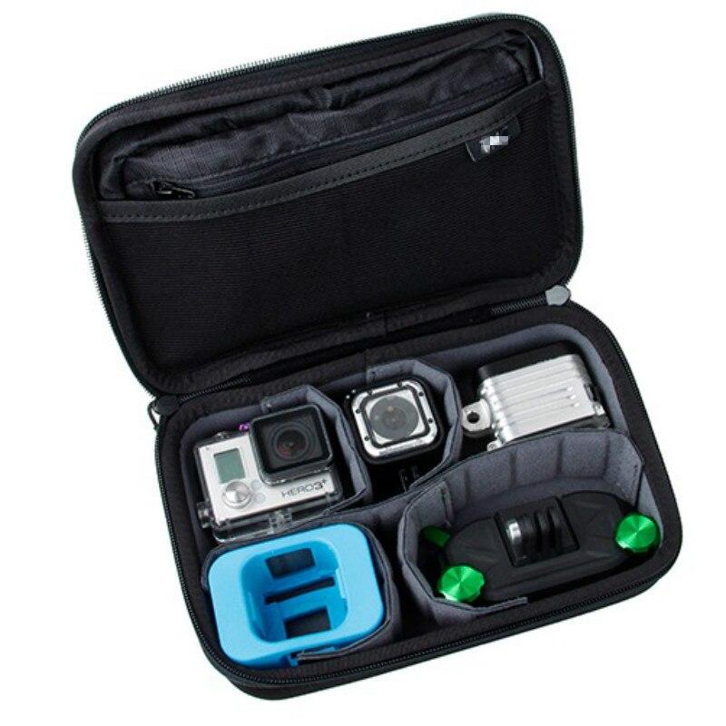 Pour Gopro Hero4 Session Casey de stockage sac Collection Boîte cas Pour Hero 5 4 3 + 3 2 SJCAM SJ4000 SJ5000 XIAOMI YI 4 K D'action caméra