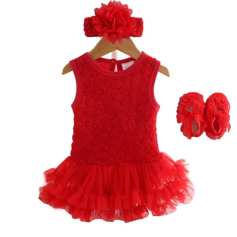 9549a8a72f98 Party & Birthday Dress For 1-2 years Baby Girl Shoes+Gown – Dapper ...