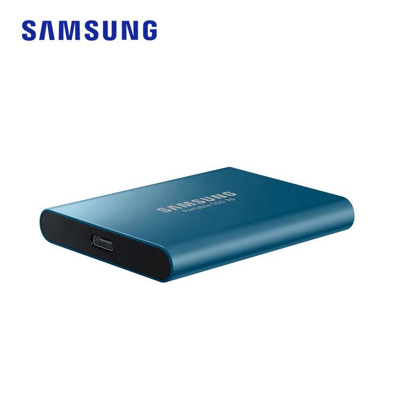 Samsung T5 portable SSD 250 GB 500 GB 1 to 2 to USB3.1 externe à semi-conducteurs USB 3.1 Gen2 et rétrocompatible pour PC - 4