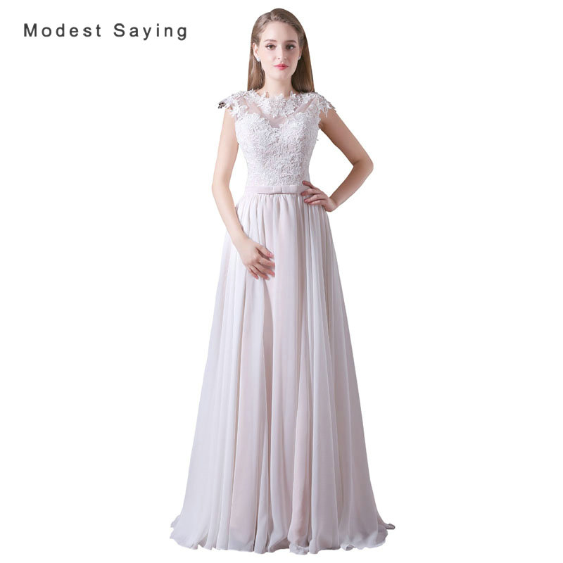 Evening Gowns For Wedding Reception: Elegant White And Champagne A Line Lace Wedding Dresses