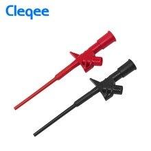 Cleqee P5004 2 Chiếc Chuyên Nghiệp Cách Nhiệt Nhanh Thử Móc Kẹp Điện Áp Cao Linh Hoạt Kiểm Thử Thăm Dò