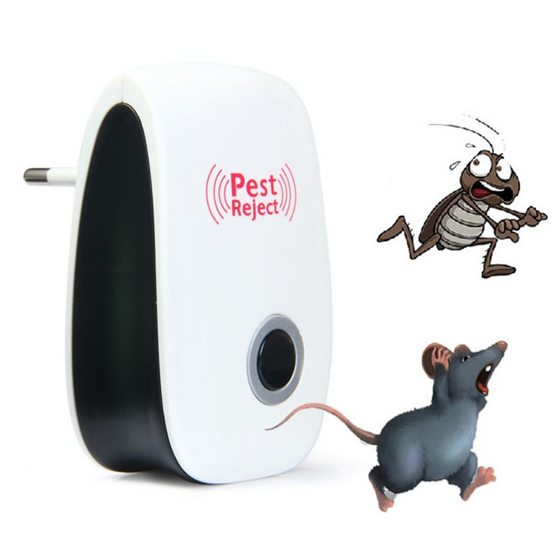Pest Control Electronic Mosquito Killer Multi Purpose Ultrasonic Pest Reject Repeller Rat Mouse Repellent Trap Rodent