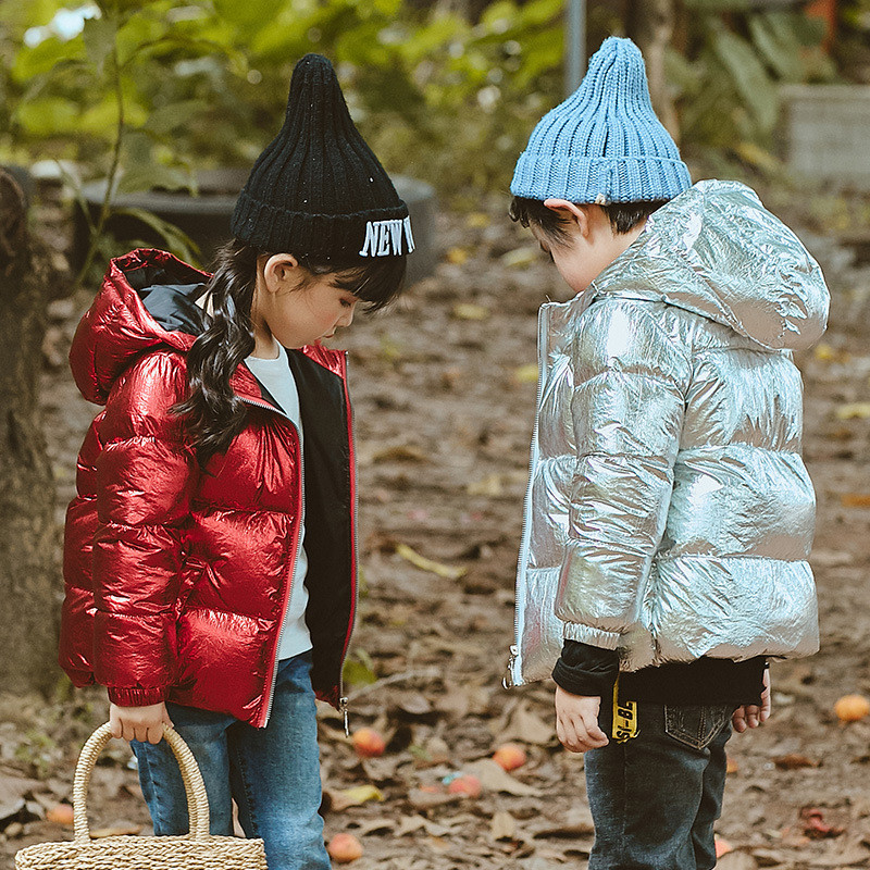 Winter Jacket Girls Boys Coat Warm Soft Duck Down Hooded Thicken Coat Outwear Kids Jacket Snowsuit children winter jacket duck down long thicker boys girls snowsuit hooded coat kids winter down jacket child clothing 12 years