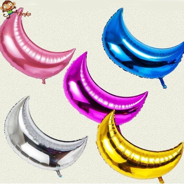 36 дюймов Большие Воздушные Шары Надувные Игрушки Большой Луна Алюминиевая Фольга Шар Праздник Свадебные Украшения С Днем Рождения Партия Поставки