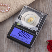 50g x 0.001g High Accuracy Jewelry Scale Electronic Scale precision measure Digital Milligram Scale Laboratory Weight Balance