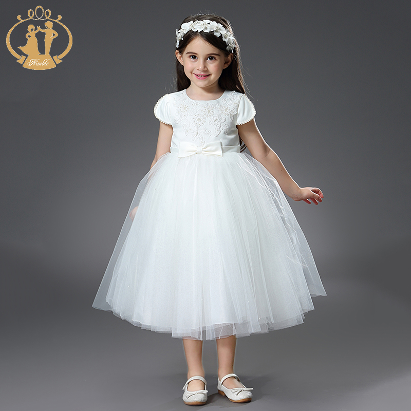 Nimble dress for girls unicorn party kids dresses for girls vestido robe fille girl dress moana vetement enfant fille princess new arrival princess girl dress party wedding birthday kids tutu dress for girls dresses clothes summer 2017 robe fille enfant