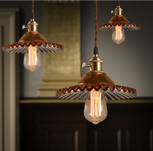 Nordic Loft Style Iron Glass Edison Pendant Light Fixtures For Dining Room Band Switch Hanging Lamp Vintage Industrial Lighting american loft vintage pendant light wrought iron retro hanging lamp edison nordic restaurant light industrial lighting fixtures