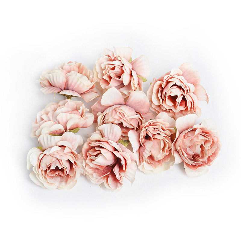 10pcs/lot Silk Roses Artificial Flowers For Wedding And Home Decorations 18