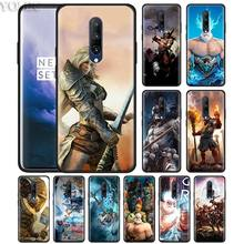 Gods Of Rome Phone Case for Oneplus 7 7Pro 6 6T Oneplus 7 Pro 6T Black Silicone Soft Case Cover