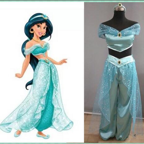 DB23324 princess jasmine costume-1