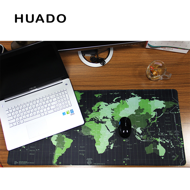 Купить с кэшбэком World Map rubber mouse pad large mouse mat desk mats big mousepads gaming rug XL  for office work/ gaming