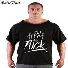 Kapas T-shirt Pakaian Musculation