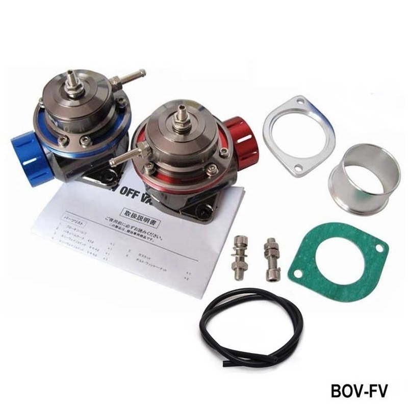 BLOW OFF VALVE BOV UNIVERSAL TYPE FV (10PSI) RED /BLUE TK-BOV-FV brand new high quality bov turbo blow off valve for hks sqv4 ssqv4 better performance than sqv3 fast delivery