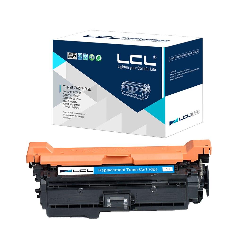 LCL 507A 507 A CE401A 401A 401 CE 401 A(1-pack) Laser Toner Cartridge Compatible for  HP Enterprise 500 color M551/N/DN/XH toner for hp laserjet 500 color mfp m551 n ce 401 m 551 ce 401am 575 c 570 dn ce401 a kcmy toner cartridge powder