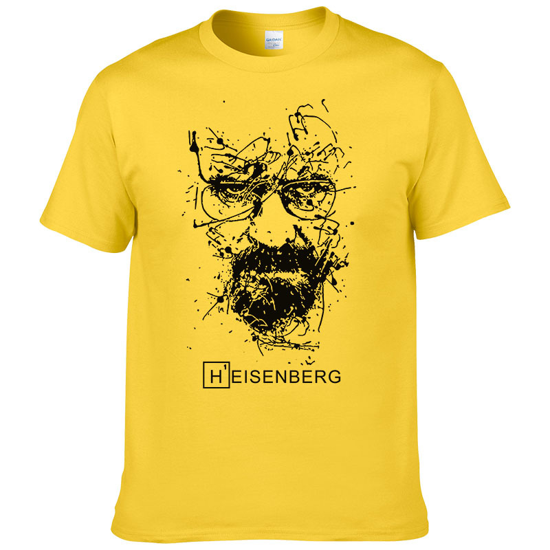 2019 New Fashion Breaking Bad   T     Shirts   Men Heisenberg Camisetas Hombre Mens Cool Tee   Shirt   Tops Short Sleeve Cotton   T  -  shirts