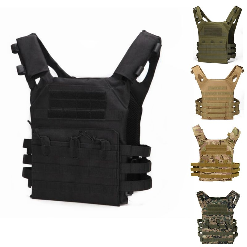 Military Equipment Tactical CS Field Vest MOLLE JPC Vest Body Armor Plate Carrier Vest Magazine Chest Rig Airsoft Paintball Gear