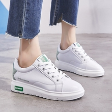 Little White Shoes Girls 2018 Spring New Korean Version of Street Cladding Leisure Thick Bottom Breathable 5