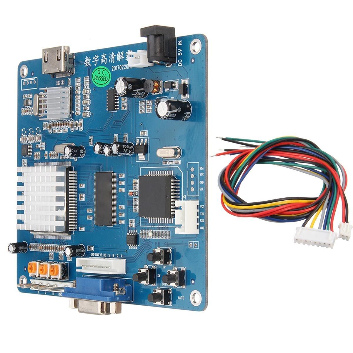 Jeu d'arcade VGA/RGB/CGA/EGA/YUV vers carte de convertisseur de sortie vidéo HD/Jamma carte de convertisseur de sortie vidéo de Machine de jeu d'arcade