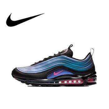 Original auténtico Nike Air Max 97 LX hombres zapatos clásico al aire libre reflectantes deportes zapatos 2019 nuevo listado AV1165 001