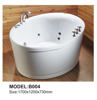 Luxury bathtub whirlpool ,glass front whirlpool bathtub new design