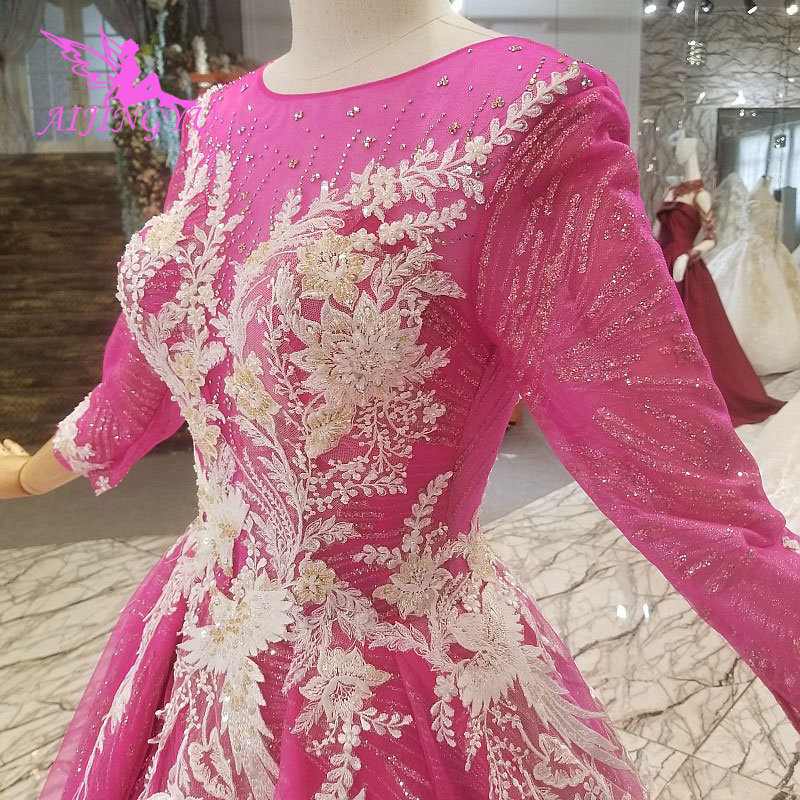 AIJINGYU Bridal Gown Designers Veils Supplier Korean Informal Sexy Marriage  Grecian Dress Gowns Luxury Lace Wedding Dresses-in Wedding Dresses from  Weddings ... ca2a9852150e