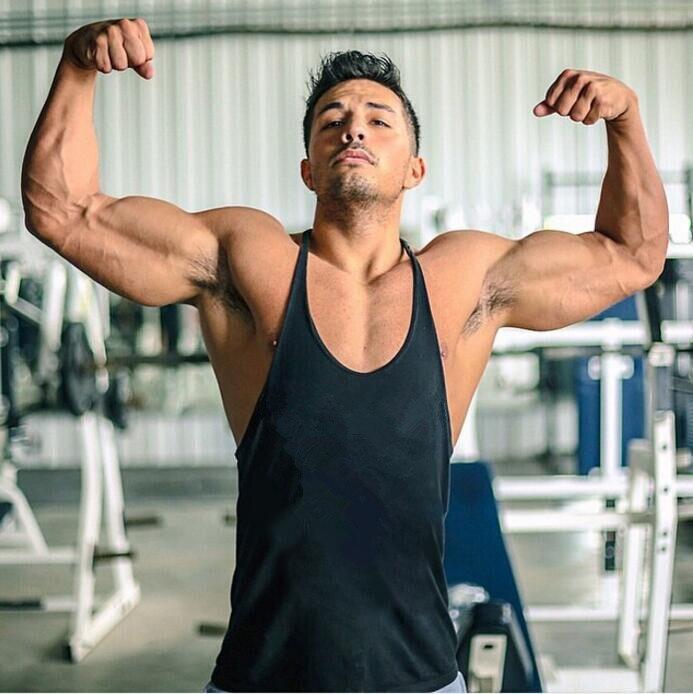 Brand Clothing Bodybuilding Stringer Fitness Mens Gyms Tank Top Shirt Blank Sleeveless Vest Sportswear Singlet Cotton Undershirt