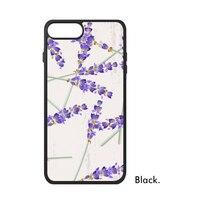Фиолетовый Лаванда ботаника дикий цветок тюльпаны dandelio любовь завод шаблон телефона чехол для iPhone X 7/8 плюс Чехол Phonecase крышка