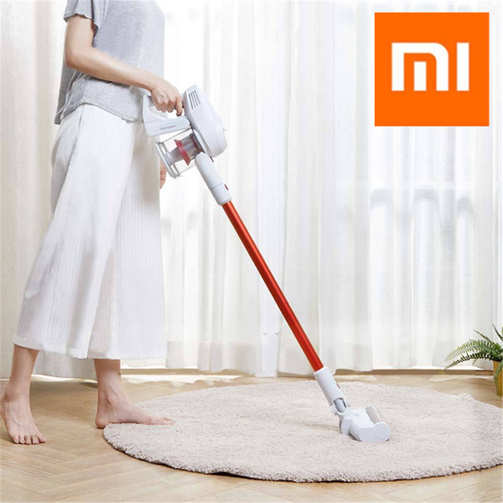 New Xiaomi JIMMY JV51 Vacuum Cleaner Handheld Wireless Strong Suction Vacuum Dust Cleaner 100000rpm Low Noise