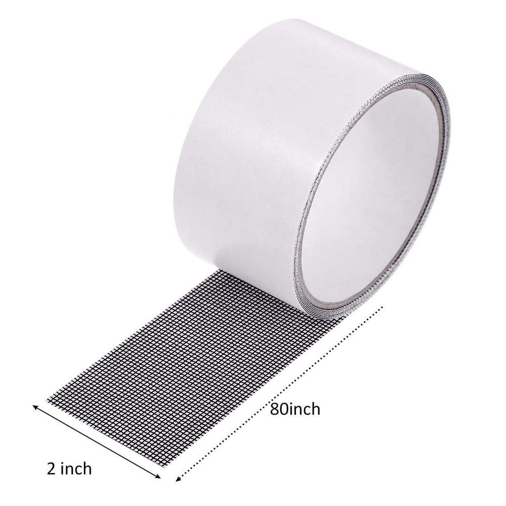 Repair tape fly screen door insect repellent repair tape waterproof mosquito net cover home window essential accessories M4 3