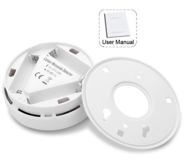 Image 4 - Independent CO Carbon Monoxide Sensors&Alarm Security Protection LCD CO Sensor Warning Alarm 85db CO Carbon Poisoning Detector-in Carbon Monoxide Detectors from Security & Protection