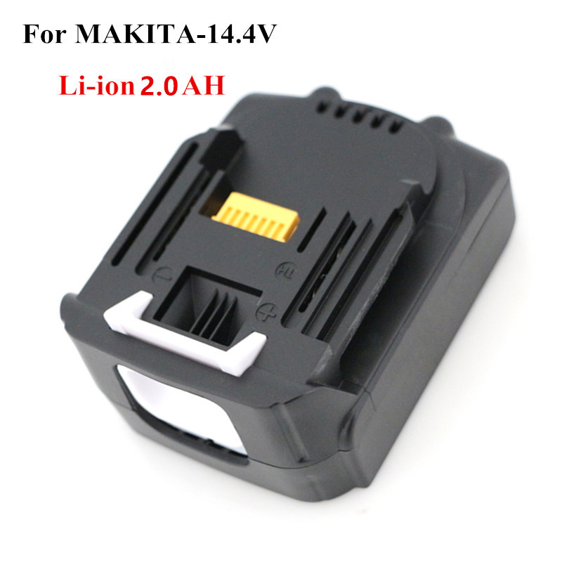 цена на 2000mah Power Tool Battery for MAKITA 14.4v 2.0A BL1430 BL1415 BTD132Z,BTS130Z,BFR540RFE,BFS450RFE,BCL140Z,BHR162Z,Tool Battery