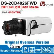 Pre-sale HIK IP Camera 2MP POE Smart IPC 1080P DS-2CD4026FWD 2MP Low Light Smart Camera Indoor Video Camera Indoor