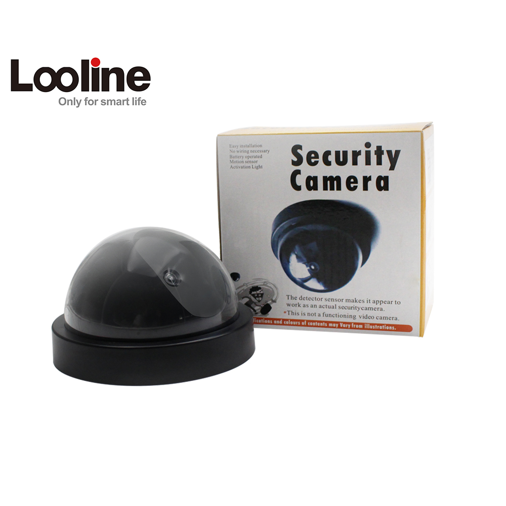 Indoor Outdoor Surveillance Dummy Fake Camera Ir Led Wireless Dome Camera Home CCTV Security Camera Simulated video Surveillance цена и фото