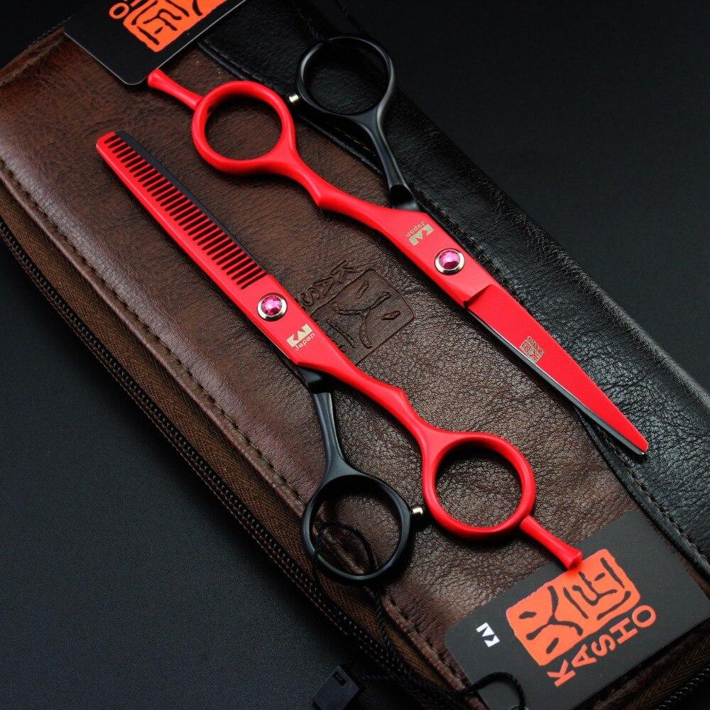 2015 Baru Warna 55 Inch Kasho Gunting Rambut Set Salon Hairdressing Tools Gratis Pengiriman Di Dari Kecantikan Kesehatan