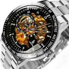 Sale ik double faced fully-automatic mechanical business luxury automatic watch steel male casual gift Classic Army table