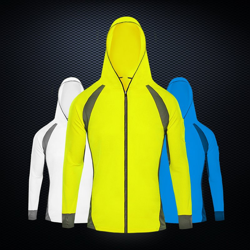 Outdoor anti-mosquito fishing suit sunscreen male summer dry breathable hooded fishing clothes hedging models breathable cool xihansugan fishing clothes fishing clothes male mosquito fish suit