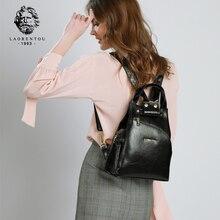LAORENTOU Brand Women Backpacks for School Style Female High
