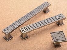 Drawer Pulls Handles Chinese style Dresser Pull Knob Kitchen Cabinet Handle Knobs Furniture dresser hardware