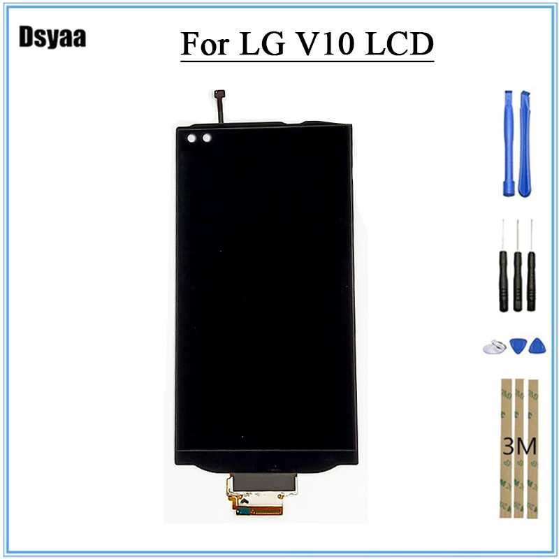 5.7inch Display For Lg V10 Lcd Display With Touch Screen Digitizer Assembly 100% Tested By Professional Equipment Perfect In Workmanship