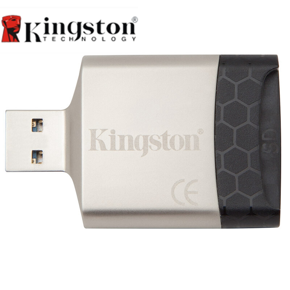 Kingston USB 3.0 Micro SD Card Reader Multi-Function Metal Mini Micro SD For TF/SD/SDHC/SDXC Memory Card USB Adapter For Camera