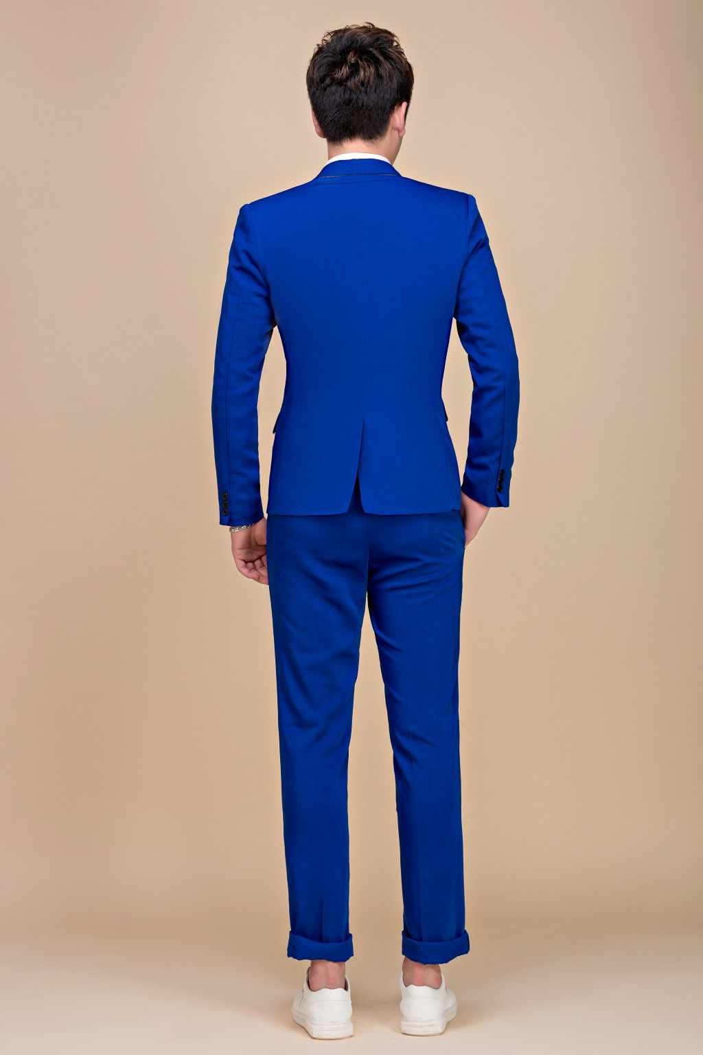 Tide мужские красочные модные свадебные костюмы плюс размер 5XL желтый розовый зеленый синий пурпурный костюмы пиджак и брюки смокинги