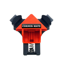 лучшая цена 4pc/set 90 Degree Right Angle Clamp Fixing Clips Picture Frame Corner Clamp Woodworking Hand Tool