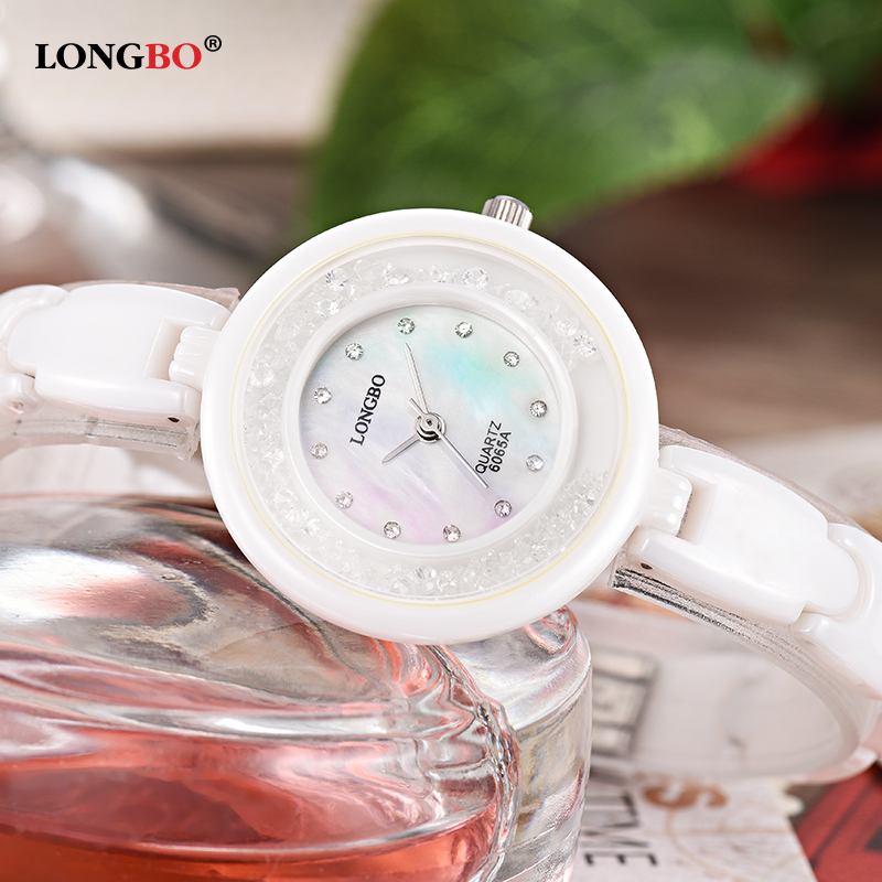 Women Watch LONGBO Brand Luxury Fashion Casual Women Wrist Watches Ceramic Strap Waterproof Watch Relogio Feminino Reloj Mujer  Women Watch LONGBO Brand Luxury Fashion Casual Women Wrist Watches Ceramic Strap Waterproof Watch Relogio Feminino Reloj Mujer