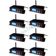 8Pcs/Lot Dmx512 Lighting Console Signal Relay 2.4G Wireless Controller Dmx Wireless Transmitter Receiver Dj Signal Transimit